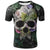 Psychedelic and Eye Illusion Skull 3D Shirts
