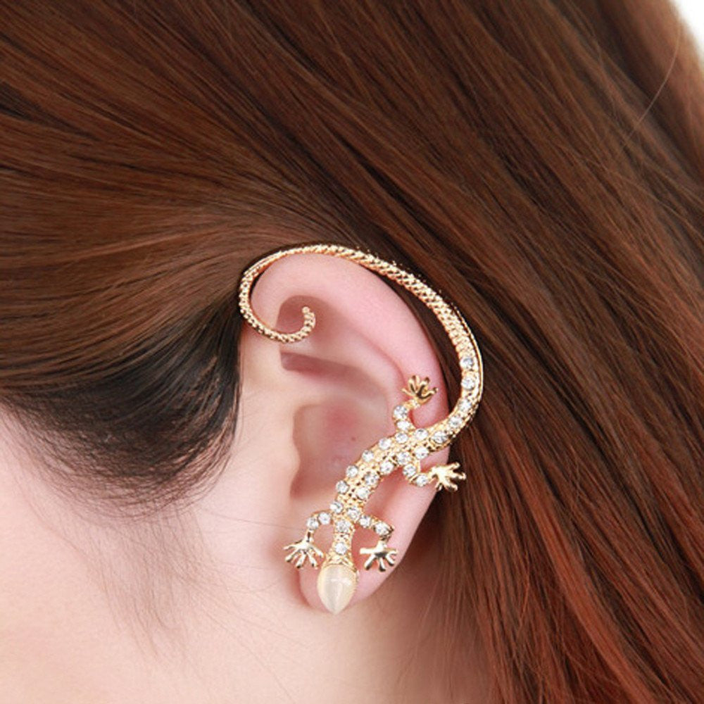 Beautiful Lizard Earring - Galaxy Teez - Shirts, Jewelry and Other ...