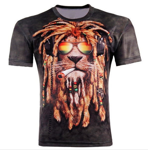 Reggae Lion 3d T Shirt Galaxy Teez Shirts Jewelry And