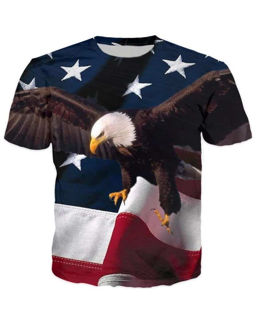 flying eagle usa freedom t shirt galaxy teez shirts jewelry and other awesome stuff. Black Bedroom Furniture Sets. Home Design Ideas