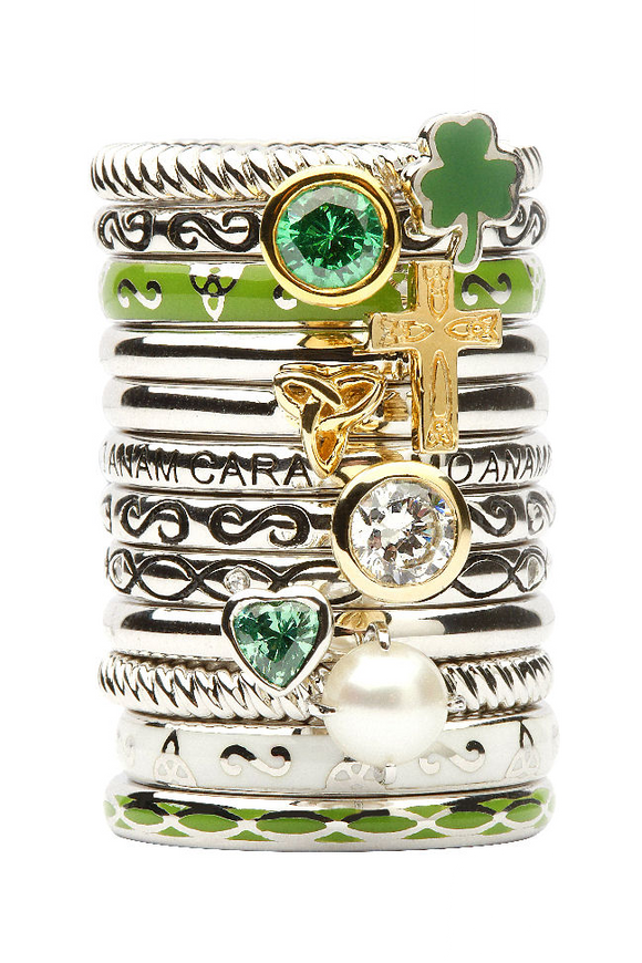 Tara's Diary Stacking Rings