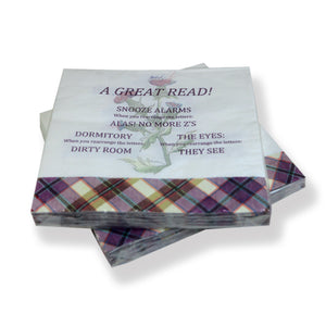 Great Read Paper Napkins 20pk