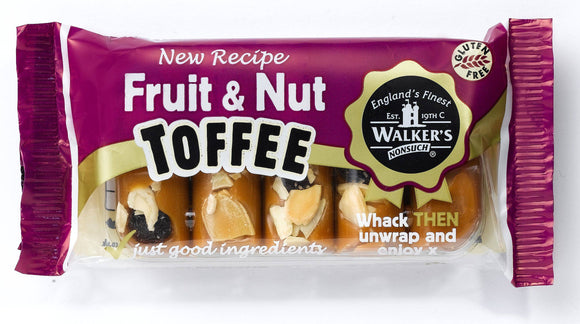 Walkers Toffee Bar Fruit and Nut