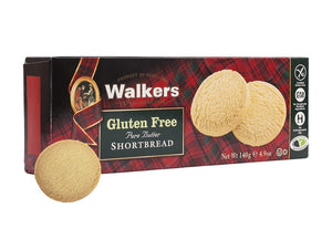 Walkers Gluten Free Pure Butter Shortbread