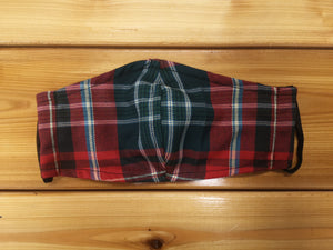 New Brunswick Tartan Cloth Face Mask