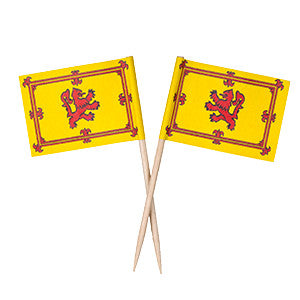 Rampant Lion Flag Picks (100pcs)
