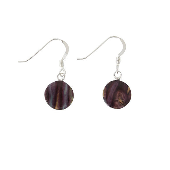 Heathergem Small Circle Drop Earrings