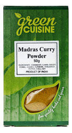 Green Cuisine Madras Curry Powder