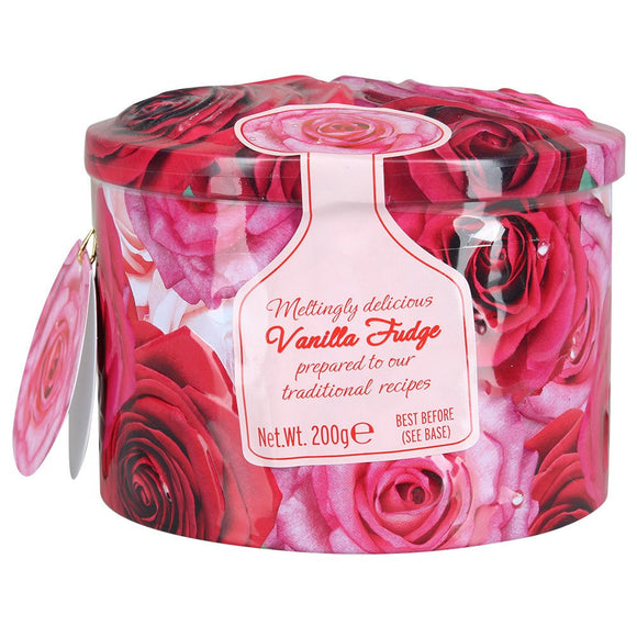 Roses Vanilla Fudge Tin
