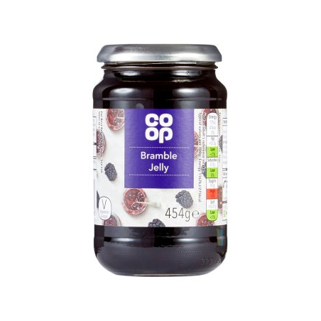 Co Op Bramble Jelly 454g