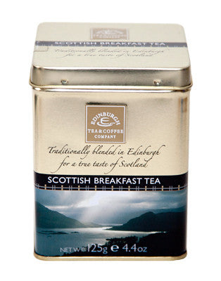 Scottish Breakfast Tea Loose Leaf Tin