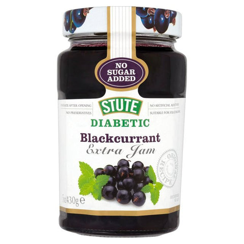 Stute Diabetic Blackcurrant Jam