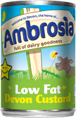 Ambrosia Devon Custard Low Fat