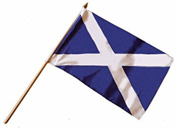 Saltire Small Stick Flag