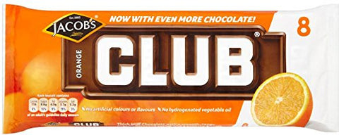 Jacob's Club Orange 8PK (McVitie's)