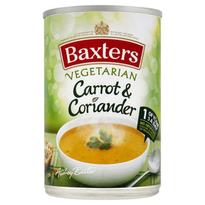 Baxter's Vegetarian Carrot and Coriander Soup
