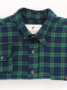 Flannel Collar Shirt