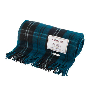 Ramsay Blue Tartan Throw