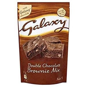 Galaxy Double Chocolate Brownie Mix 360g