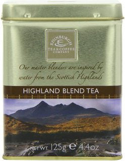 Highland Blend Tea Loose Leaf Tin