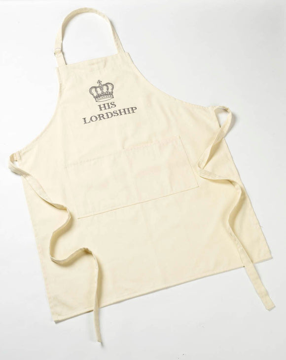 His Lordship Cotton Apron