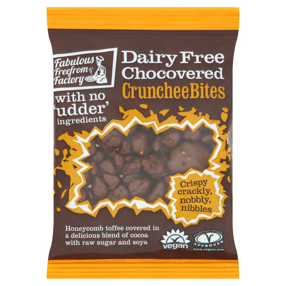 Fabulous Dairy Free Chocolate Covered Crunchee Bites