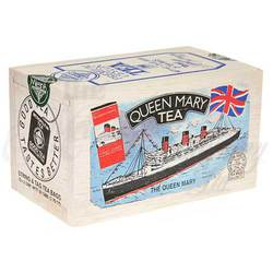 Queen Mary Tea Box 25s