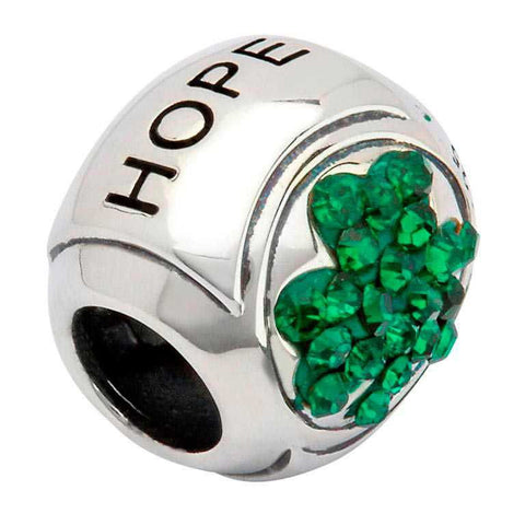 Green Stone Set Shamrock