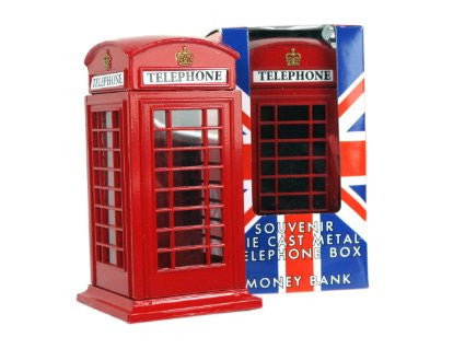 Small Telephone Box Money Bank
