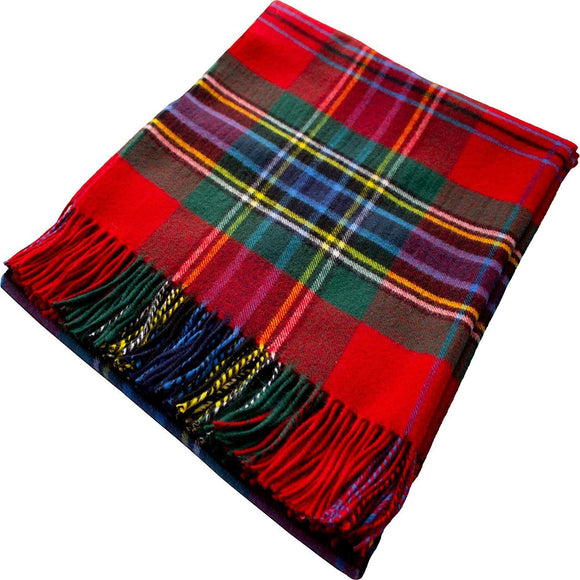 MacLean of Duart Tartan Throw