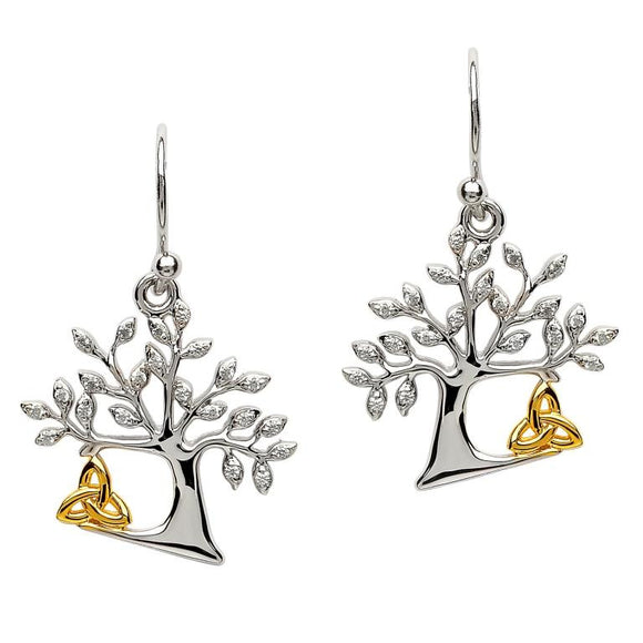 Tree Of life Trinity Earrings
