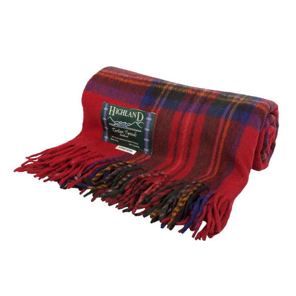 Royal Stewart Tartan Throw