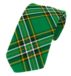 Irish National Tartan Tie