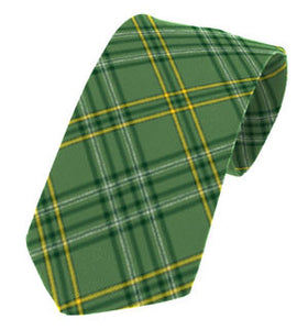 Irish County Wexford Plaid Necktie Tartan Ties for Men USA Kilts