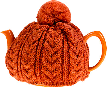 Merino Wool Tea Cosy with Pom Pom