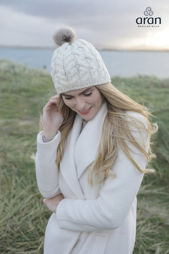 Supersoft Merino Bobble Hat (B648)