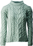 Cable Knit Merino Wool Sweater