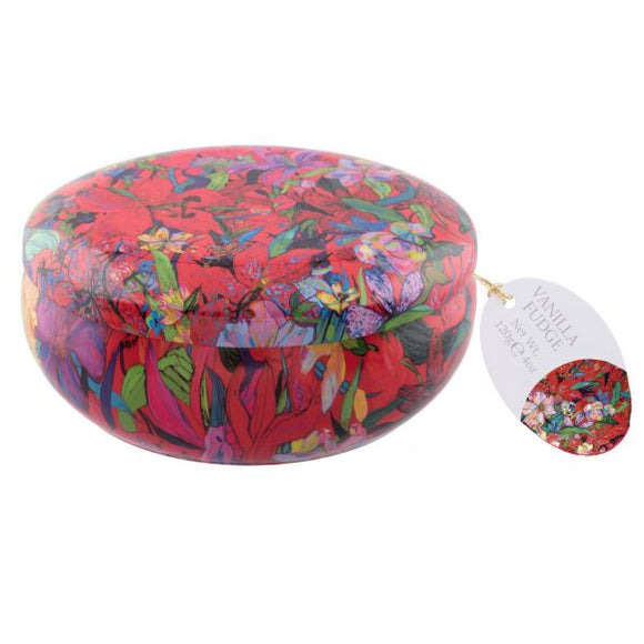 Best Blooms Vanilla Fudge Tin 200g