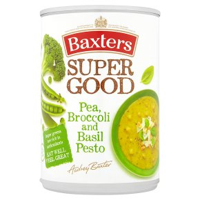 Baxter's Super Good Pea, Broccolli & Basil Pesto Soup