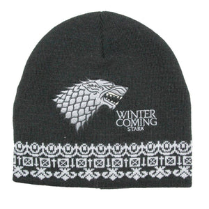Game of Thrones Beanie (House Stark)