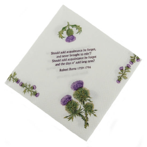 Thistles & Burns Napkins