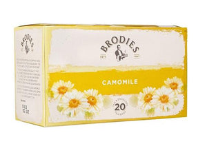 Brodies Camomile Tag & Envelope Teabags