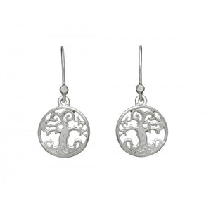 Tree Of Life Small Drop Earrings