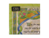 Irish Blessing Napkins 20pk - Irish Weave