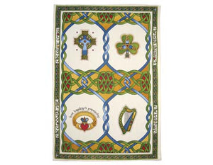 Irish Weave Tea Towel