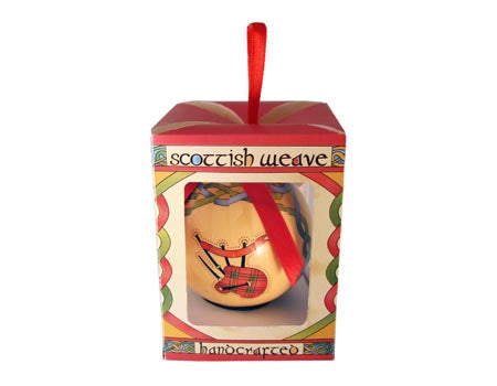 Scottish Baubles Hanging Ornament