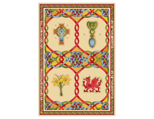 Welsh Weave Tea Towel