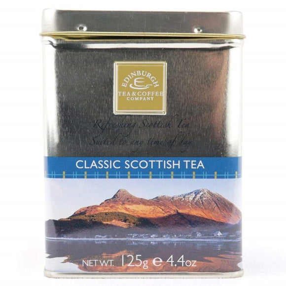 Classic Scottish Tea Loose Leaf Tin