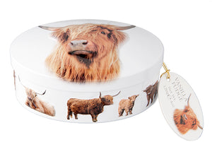 Highland Coo Vanilla Fudge Tin