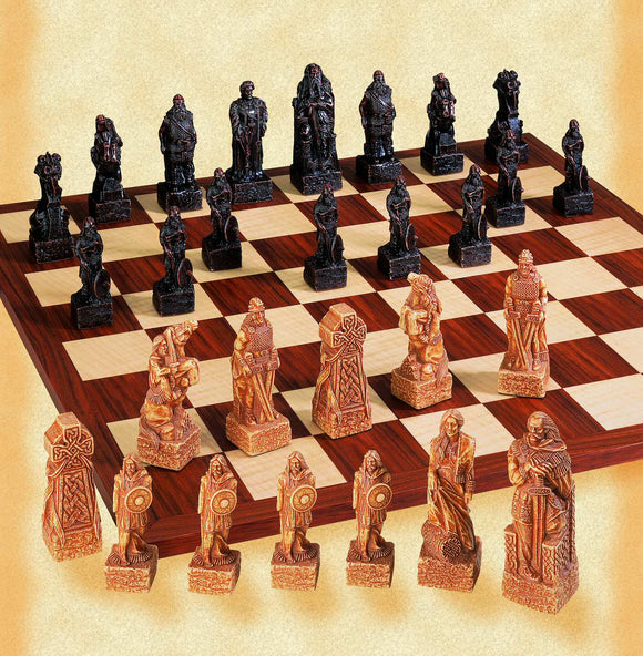Celtic & Viking Chess Set